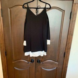 Sandro Ferrone Black and White Tunic...Size Medium